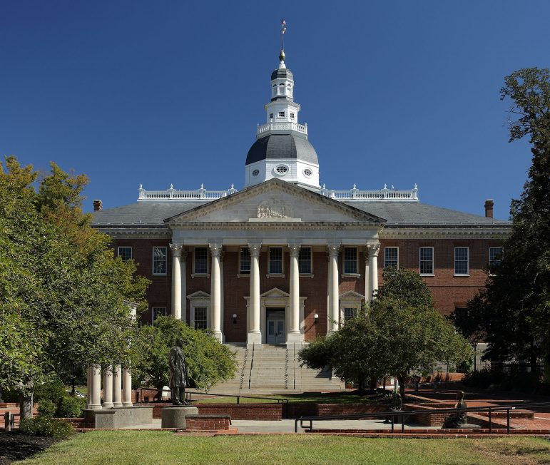 MD State House from College Ave